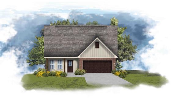 Albion V G Open Floor Plan - DSLD Homes