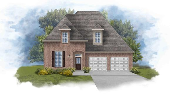 Versailles III A - Open Floor Plan - DSLD Homes