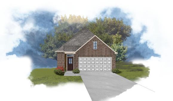 Lourdes II C - Open floor plan- DSLD Homes