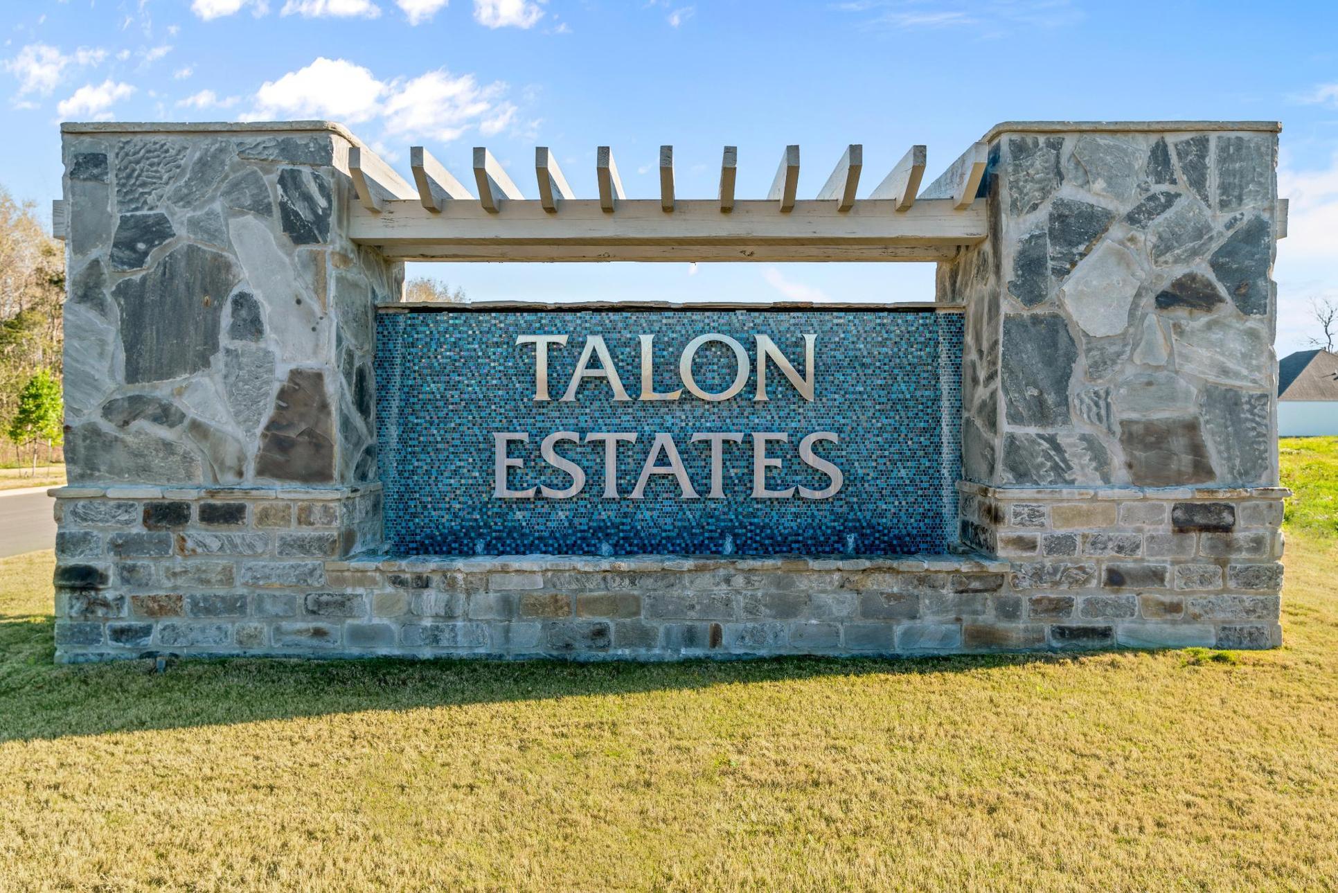 Community Entrance Sign - Talon Estates - Broussard, Louisiana - DSLD Homes