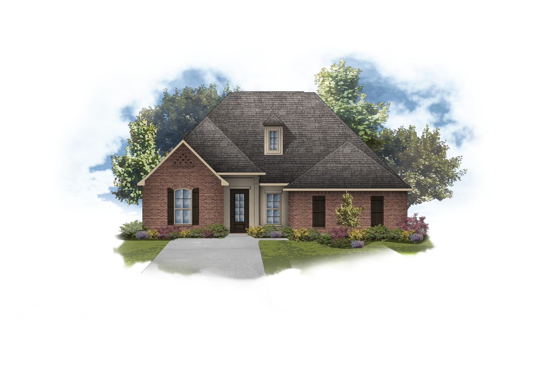 Harmand II A - The Preserve at Gray's Creek - Floor Plan in Community