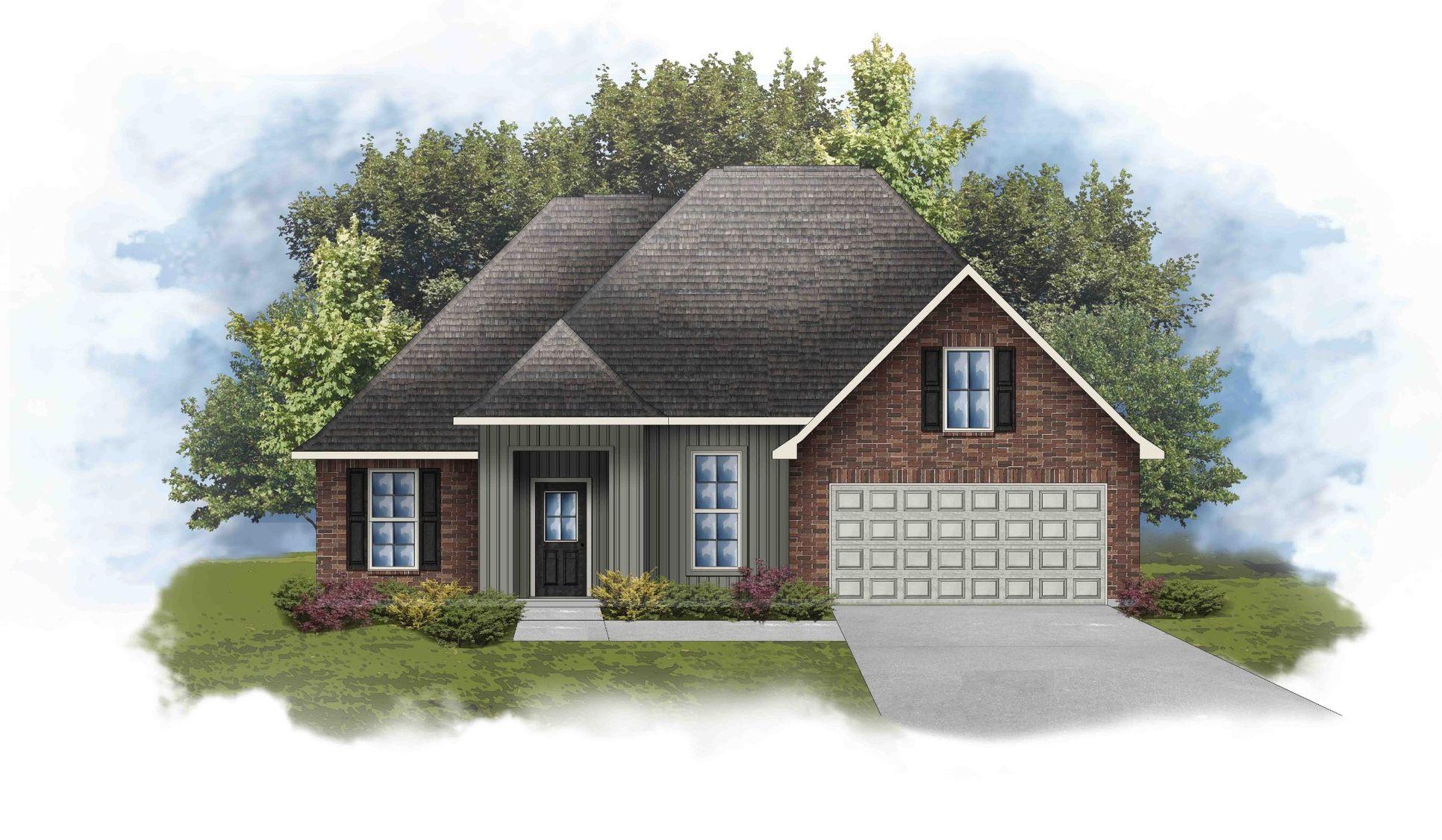 Rowland IV G Floor Plan - DSLD Homes