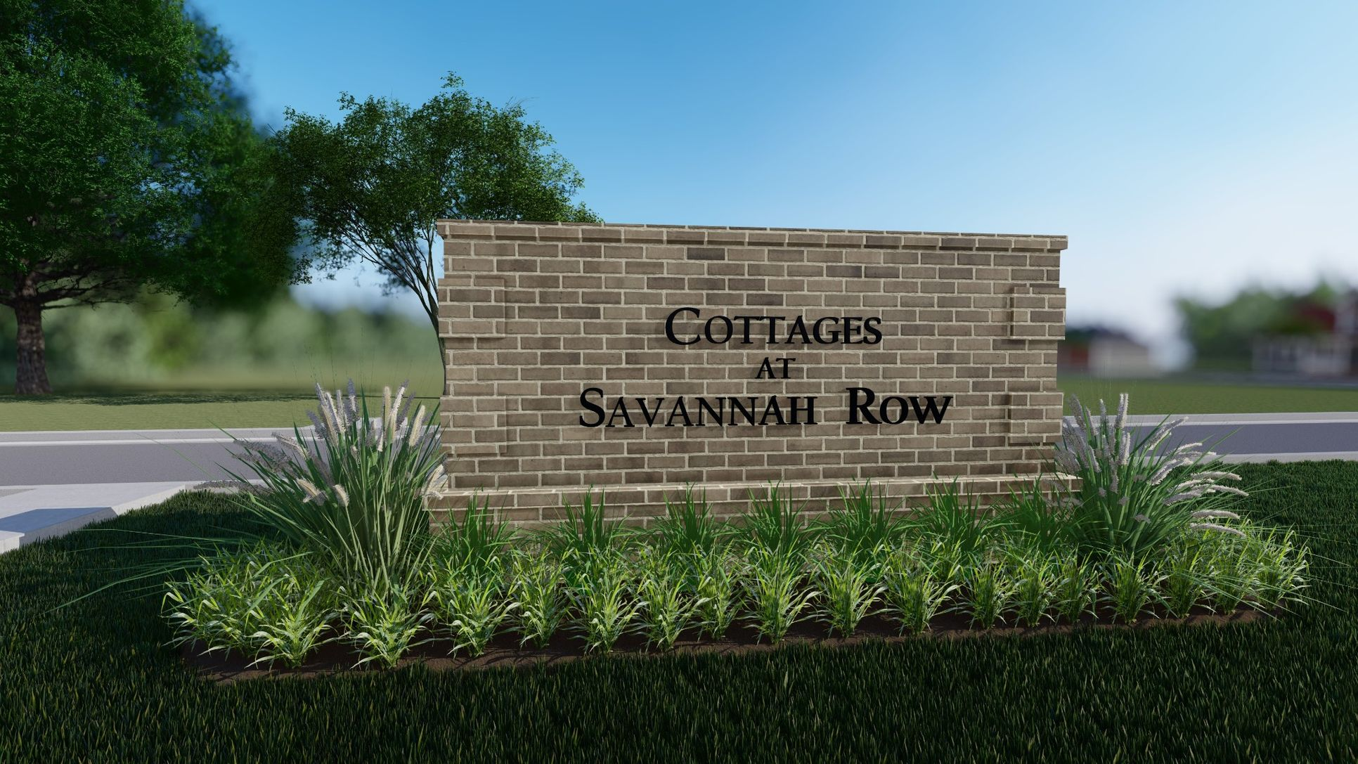 Cottages at Savannah Row- Front Entrance Community Sign - DSLD Homes
