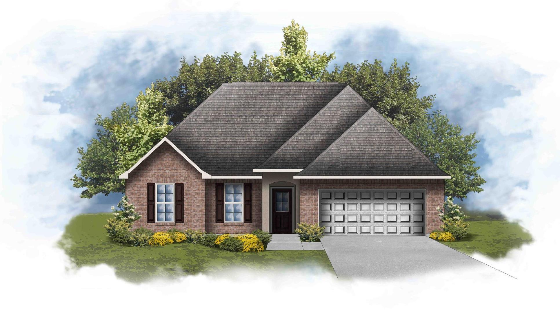 Ravenswood IV B - Front Elevation - DSLD Homes