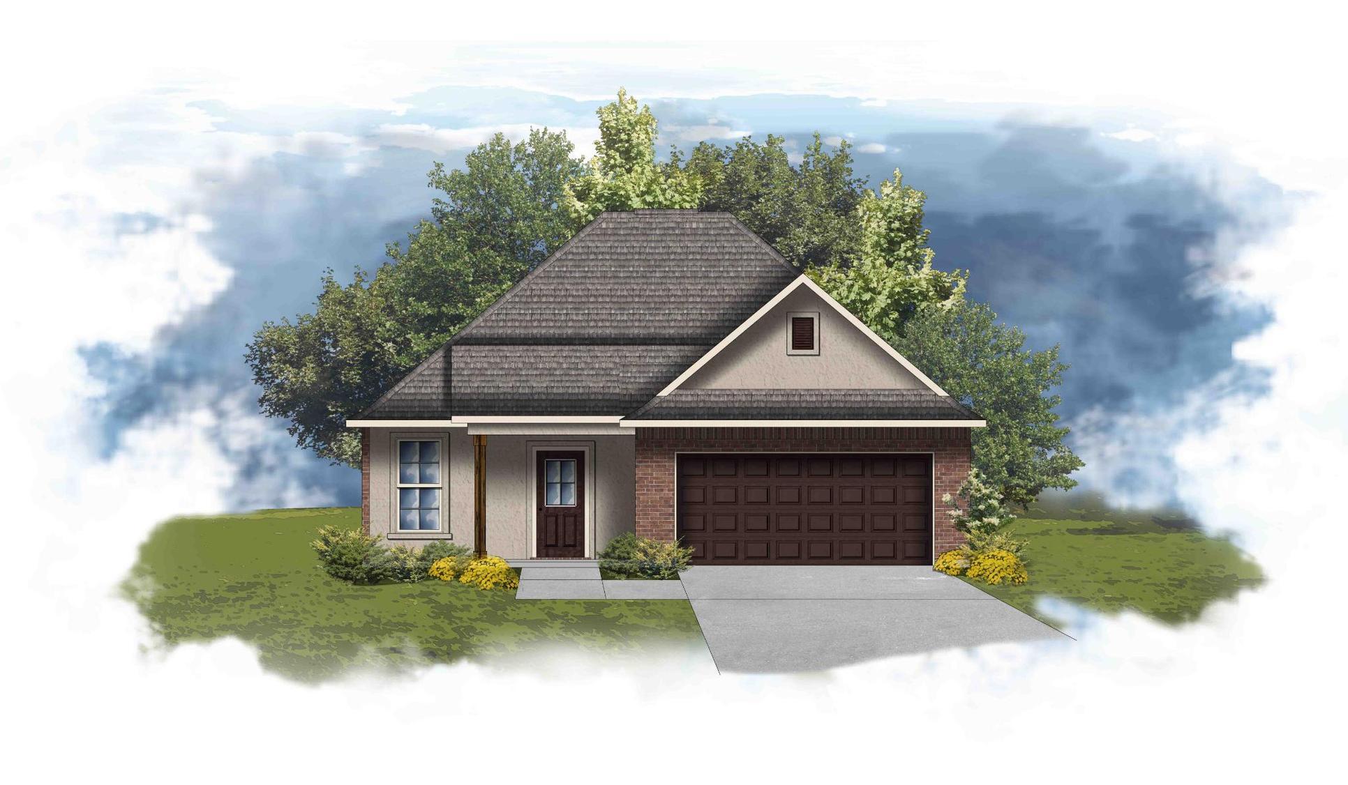 Thame II A - Front Elevation- DSLD Homes