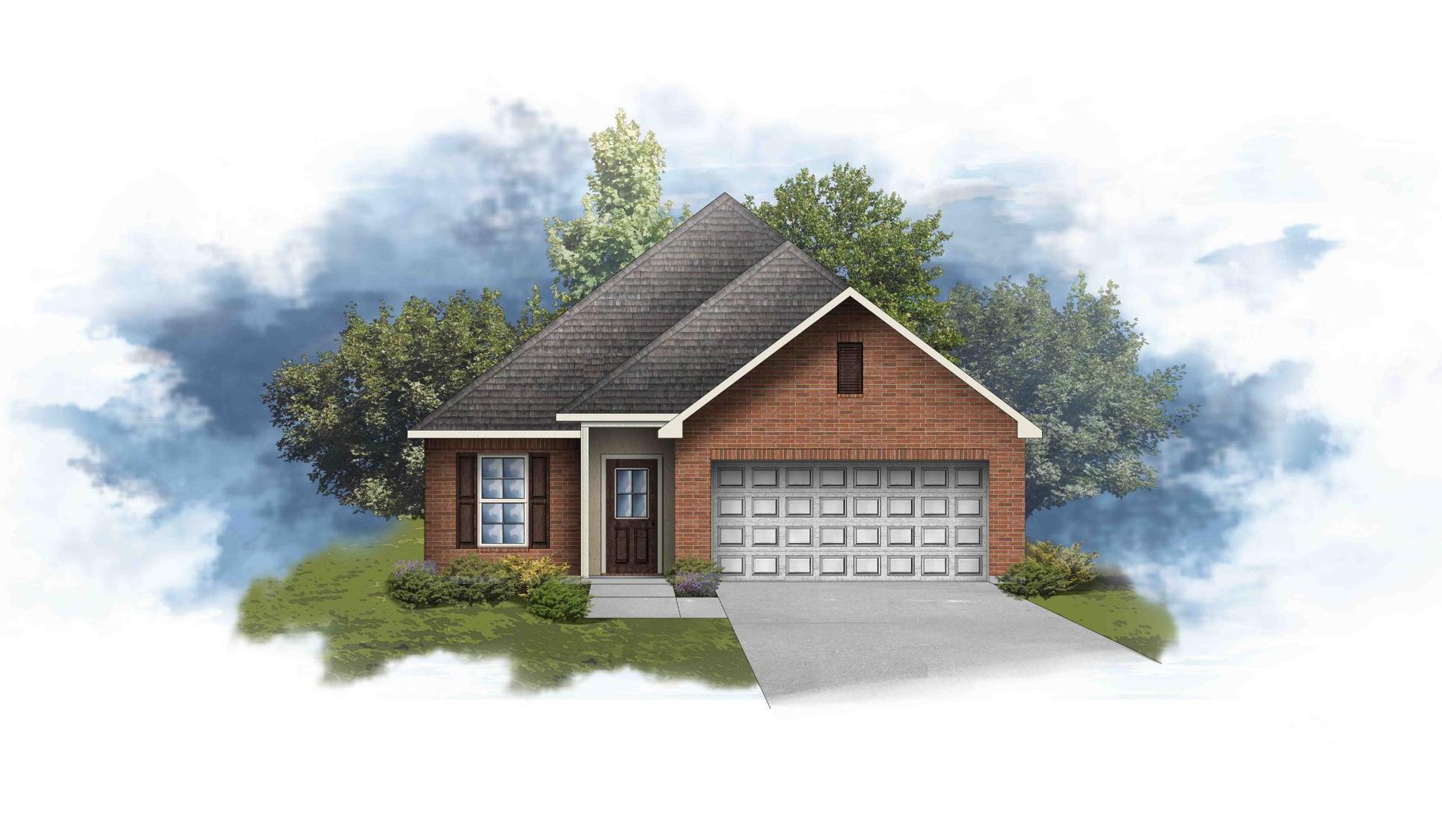 Croydon III B Plan - DSLD Homes