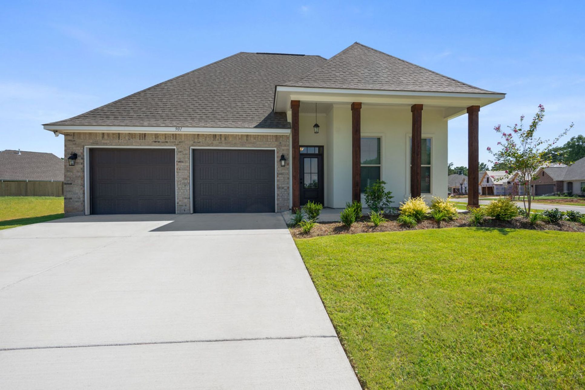 new homes in iowa la by dsld homes:Violet III A Floor Plan - Willow Heights Model Home - DSLD Homes - New Construction Homes