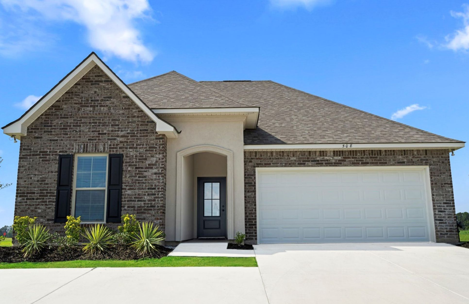 new homes in duson, la in avery meadows:Somerset Park Model Home - Trillium III A - Townsend III G Crossover - DSLD Homes
