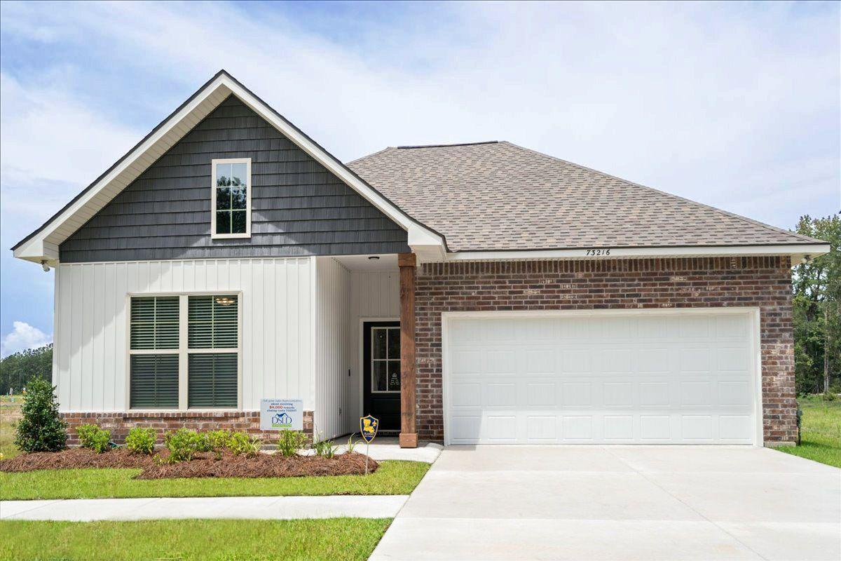 new homes in covington, la by dsld homes:DSLD Homes - Preston Vineyard - Yancy II G - Covington, LA