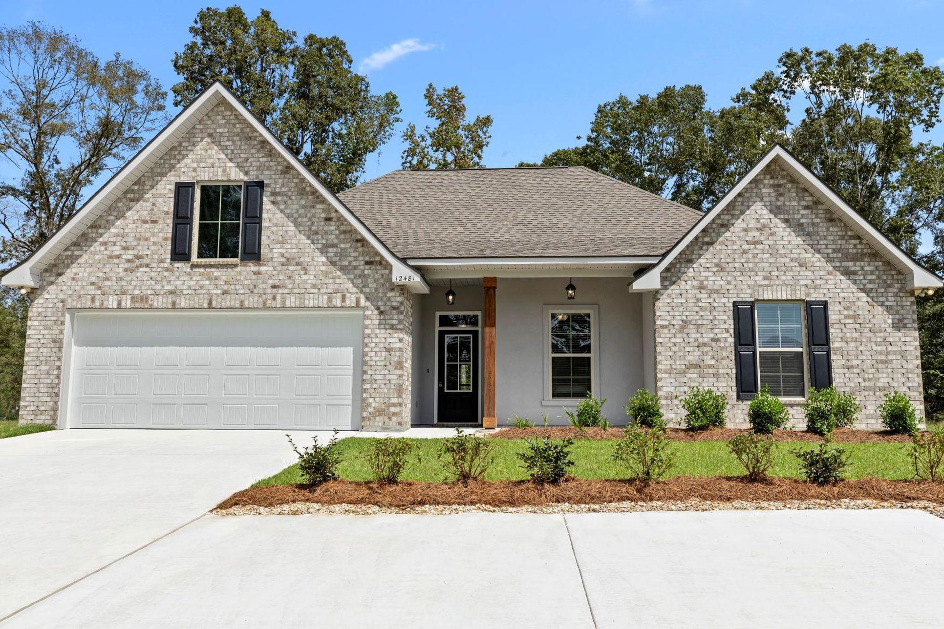 new home community in gonzales la in forestwood:Cognac Floor Plan - Hidden Lakes Estates Community - DSLD Homes