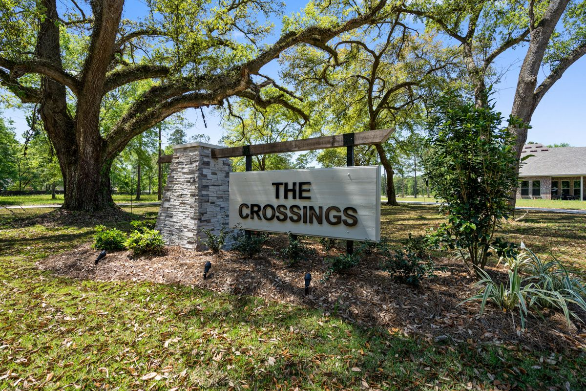 Community Sign - DSLD Homes - The Crossings in Hammond