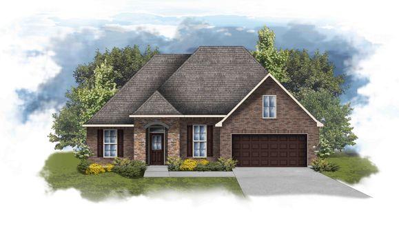 Riverside IV A Open Floor Plan Elevation Image - DSLD Homes