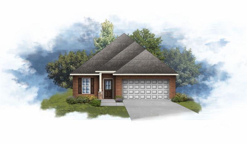Caldwell III A Huntsville - Open Floor Plan - DSLD Homes