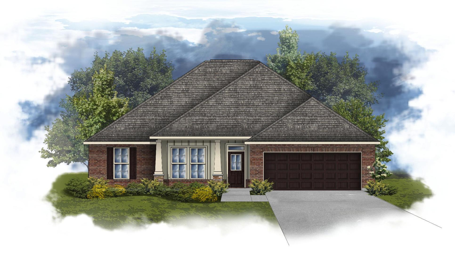 Ionia II A - Huntsville - Open Floor Plan - DSLD Homes