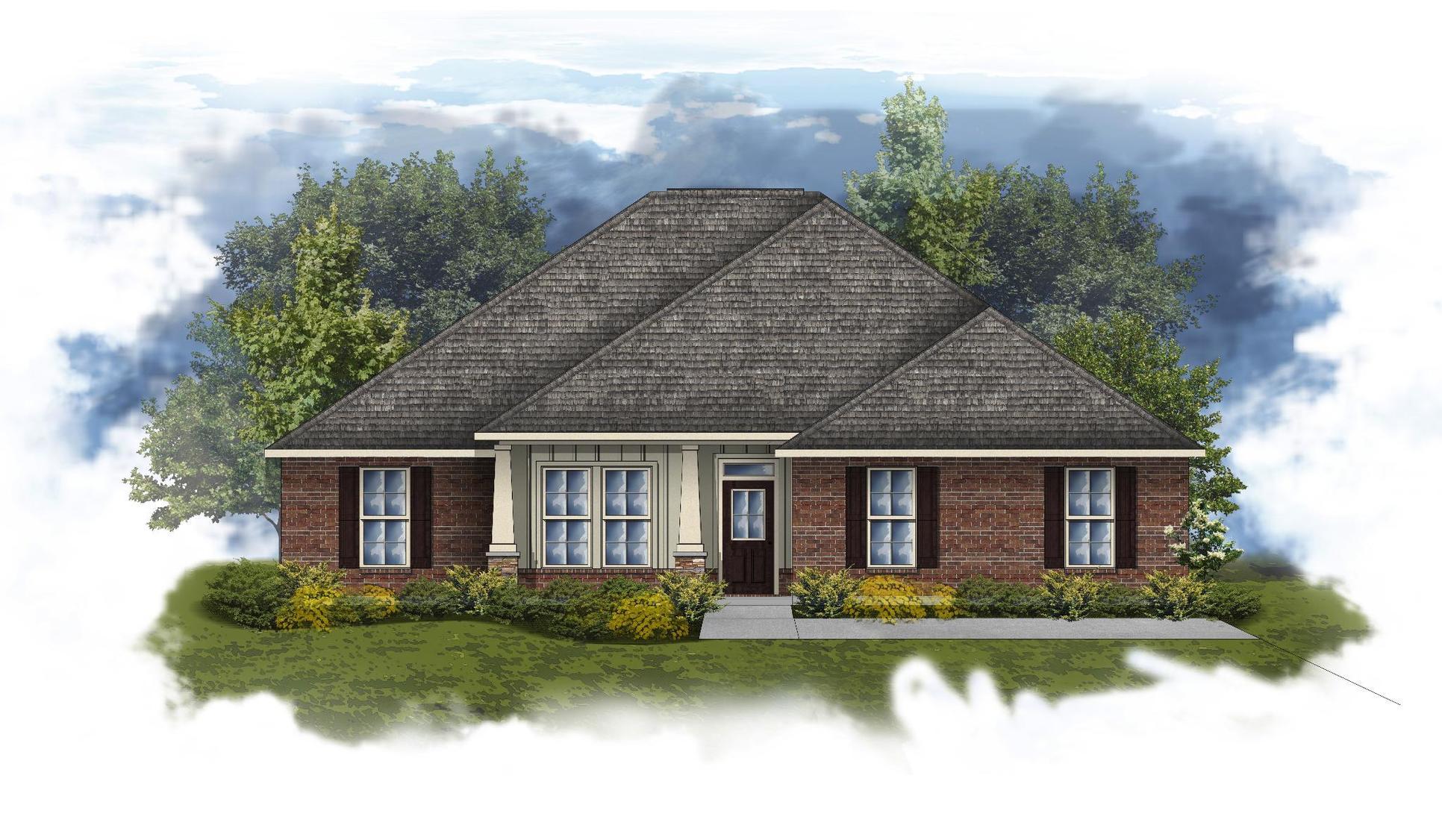 Ivanhoe II A - Huntsville - Open Floor Plan - DSLD Homes
