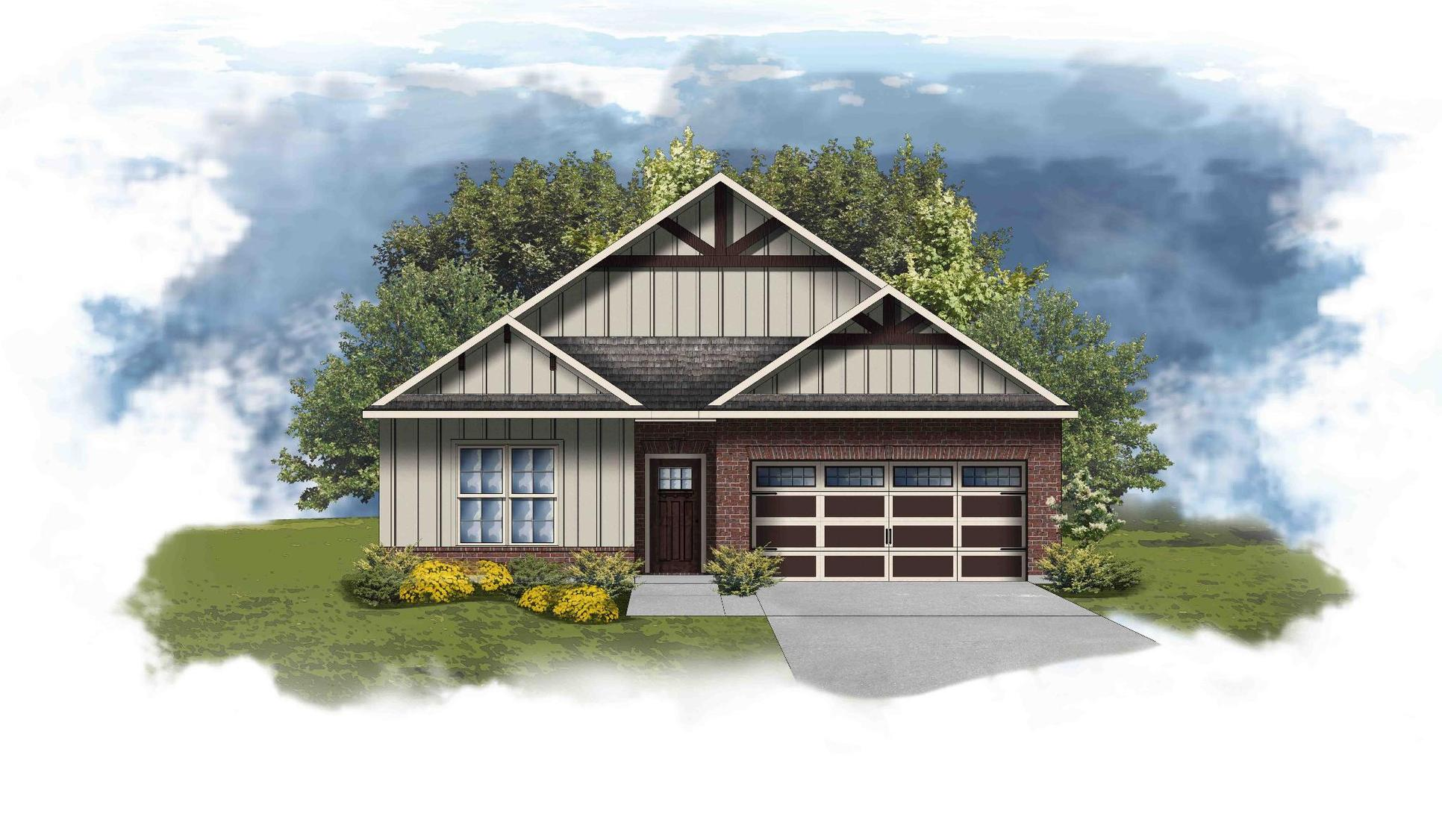 Torrington II C - Open Floor Plan - DSLD Homes