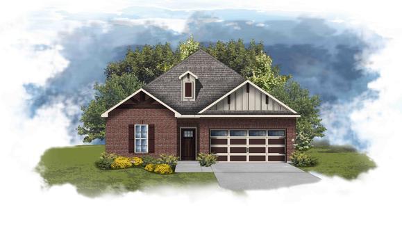 Torrington II D - Open Floor Plan - DSLD Homes