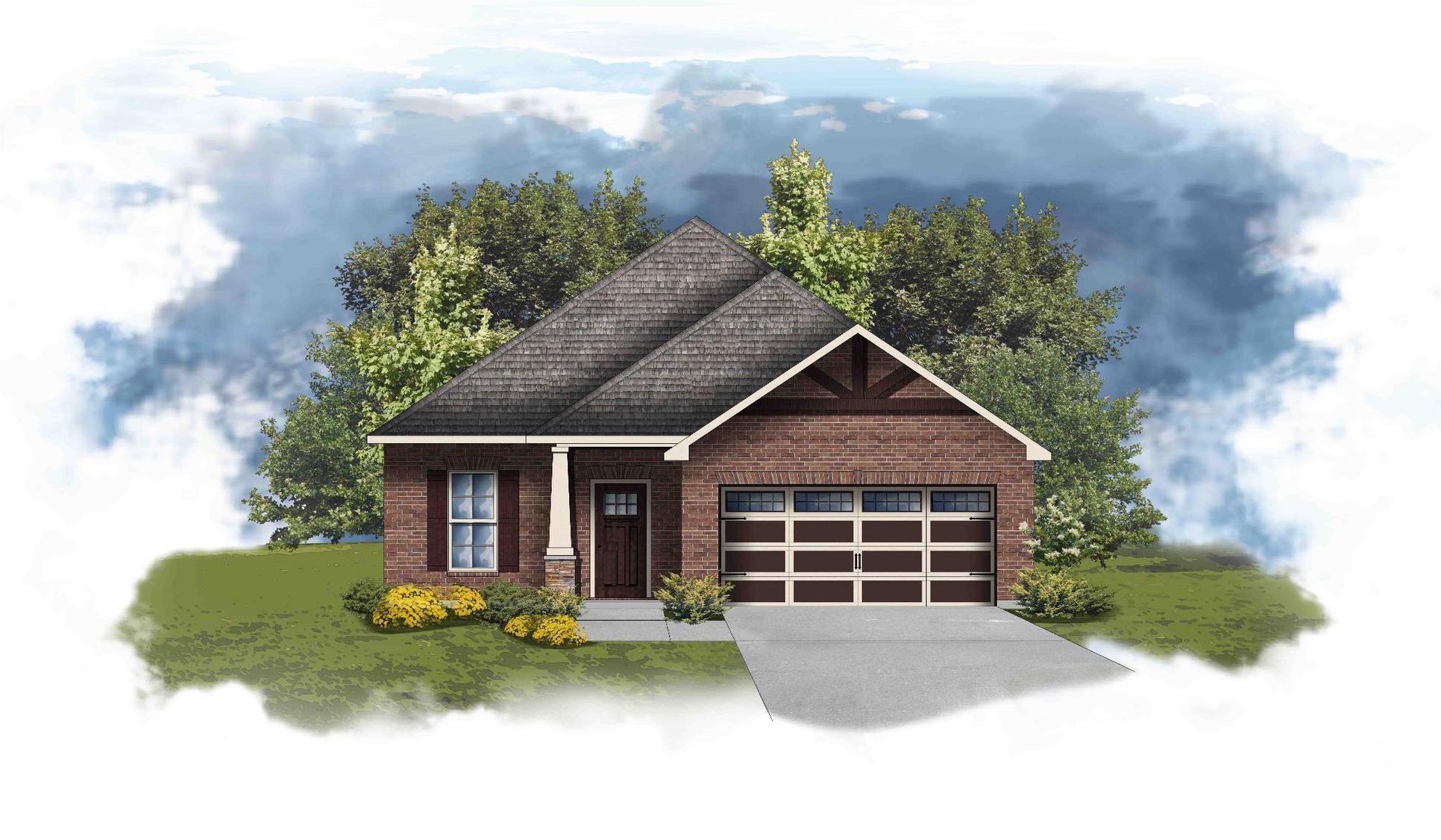 Delmar II D - Open Floor Plan - DSLD Homes
