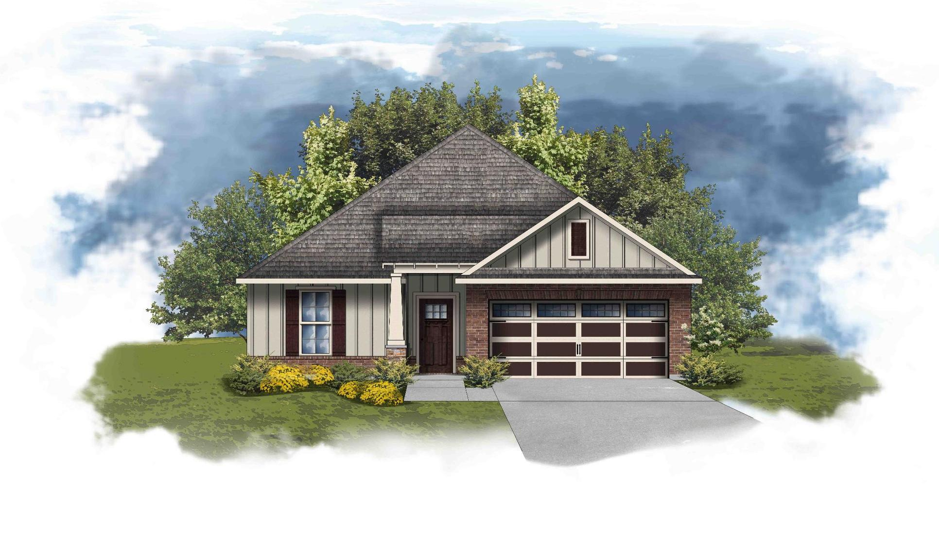 Crafton II C - Open Floor Plan - DSLD Homes