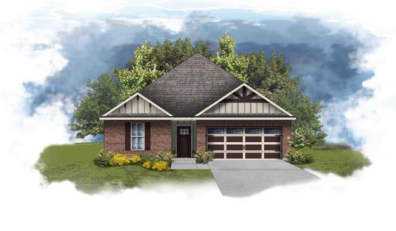 Crafton II D - Open Floor Plan - DSLD Homes