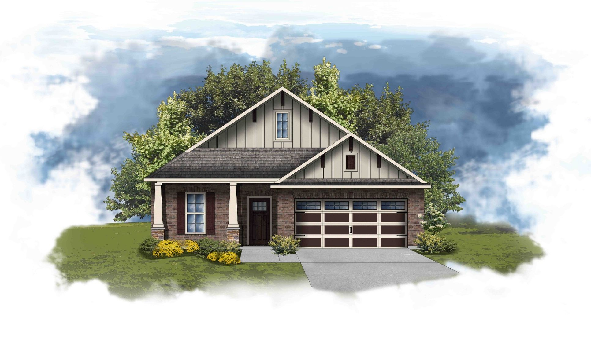 Newark II C - Open Floor Plan - DSLD Homes