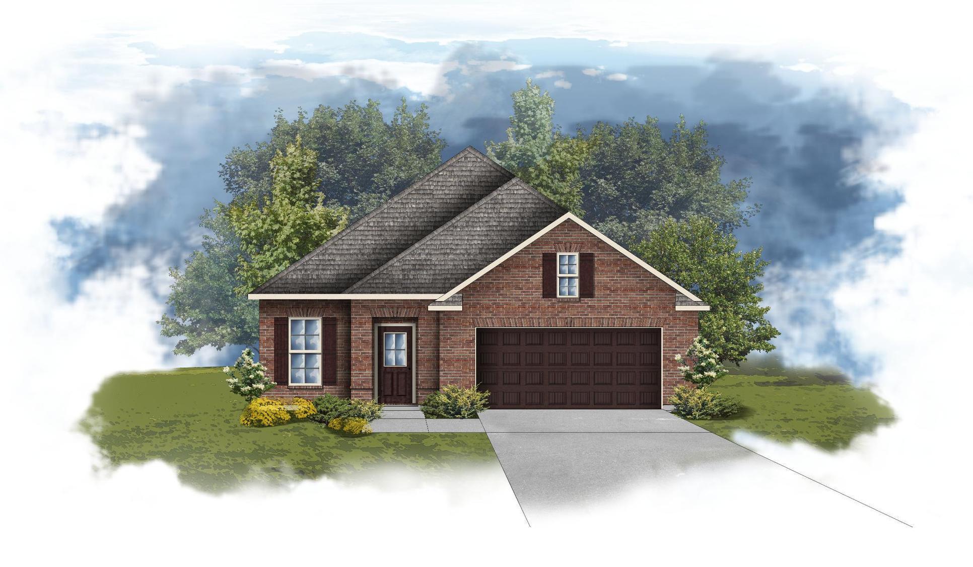 Branford II A - Open Floor Plan - DSLD Homes