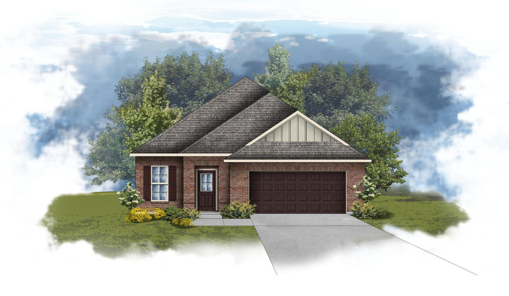 Branford II B - Open Floor Plan - DSLD Homes
