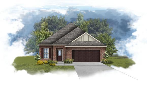 Branford II B - Open Floor Plan - DSLD Homes