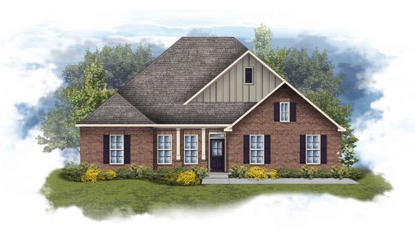 Conway II B Open Floorplan Elevation Image - DSLD Homes
