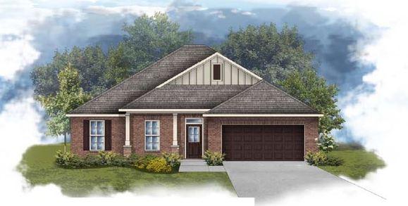 Rodessa III B - Open floor plan - Front elevation