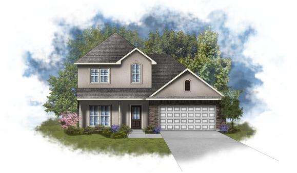 Willowbrook II A - Open Floor Plan - DSLD Homes