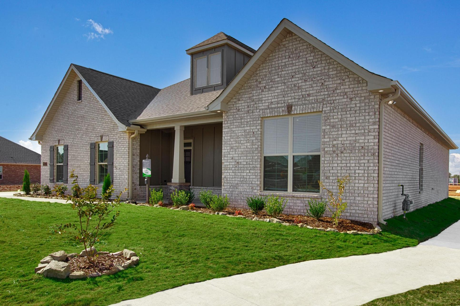 Ivanhoe II A Stone - Newby Chapel Community - DSLD Homes - Madison, AL - Model Home Exterior