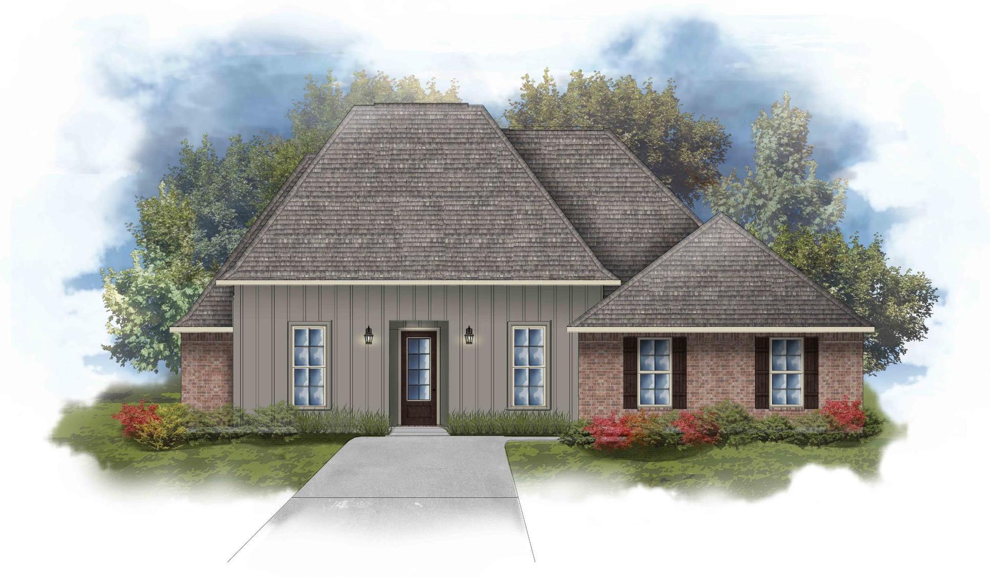 Renoir IV G -  Front Elevation - DSLD Homes