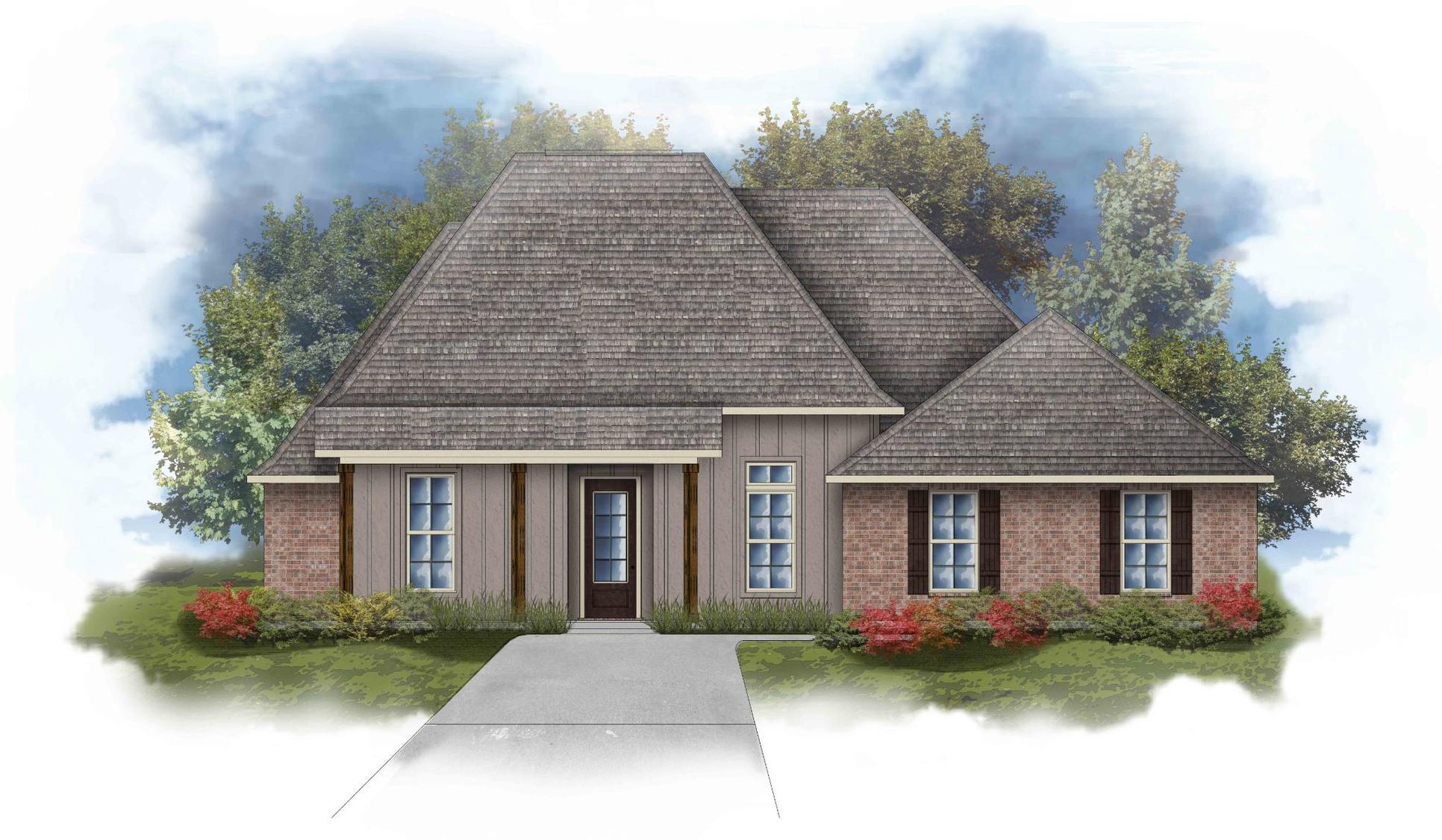 Renoir IV I - Front Elevation - DSLD Homes