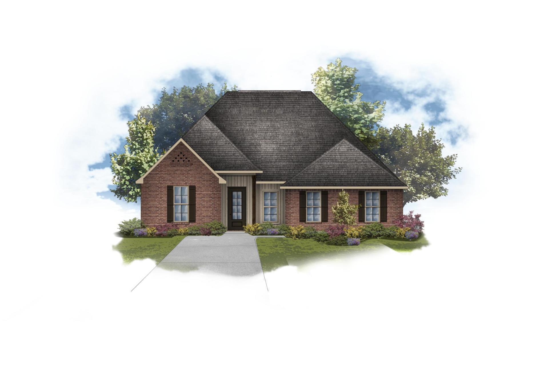 Harmand III G - Front Elevation - DSLD Homes