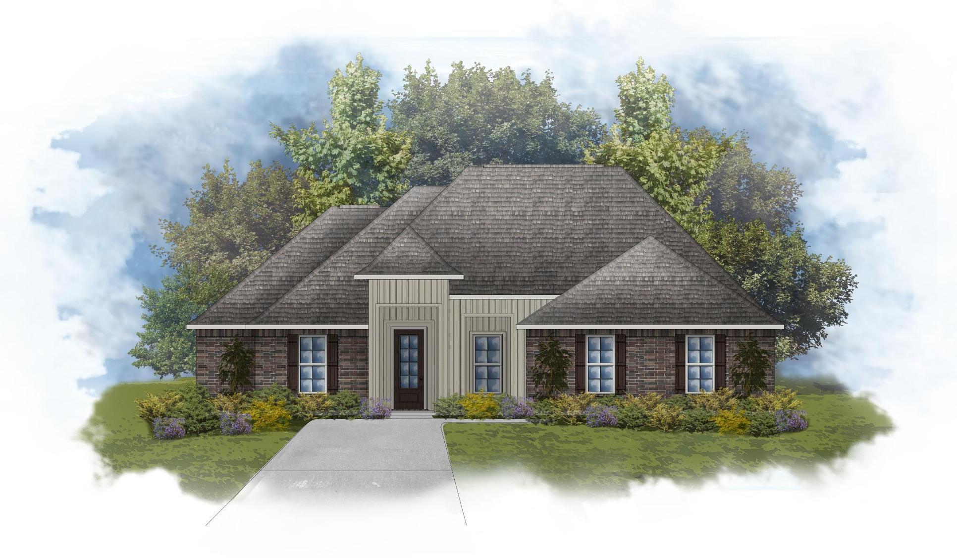 Klein II H - Front Elevation - DSLD Homes