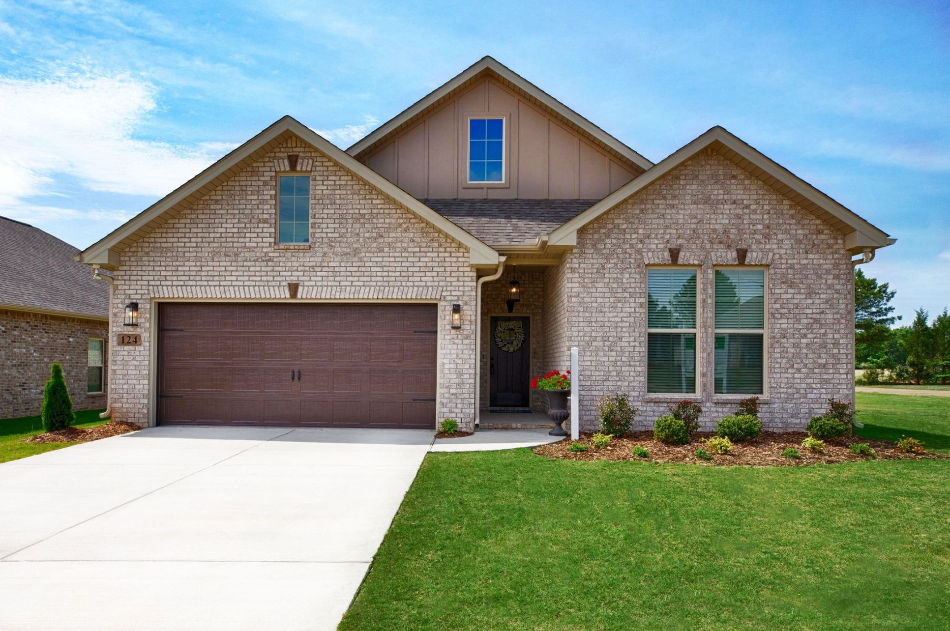 New Home Community in Athens, AL by DSLD Homes:Belrose Place Model Home images - Trenton III A - Floor Plan - DSLD Homes
