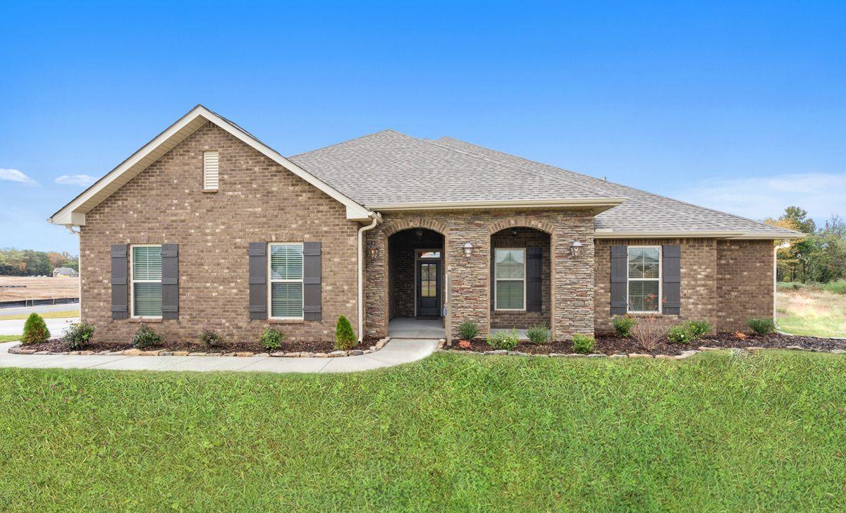 Front Model Home - Phillips Cove - DSLD Homes Huntsville