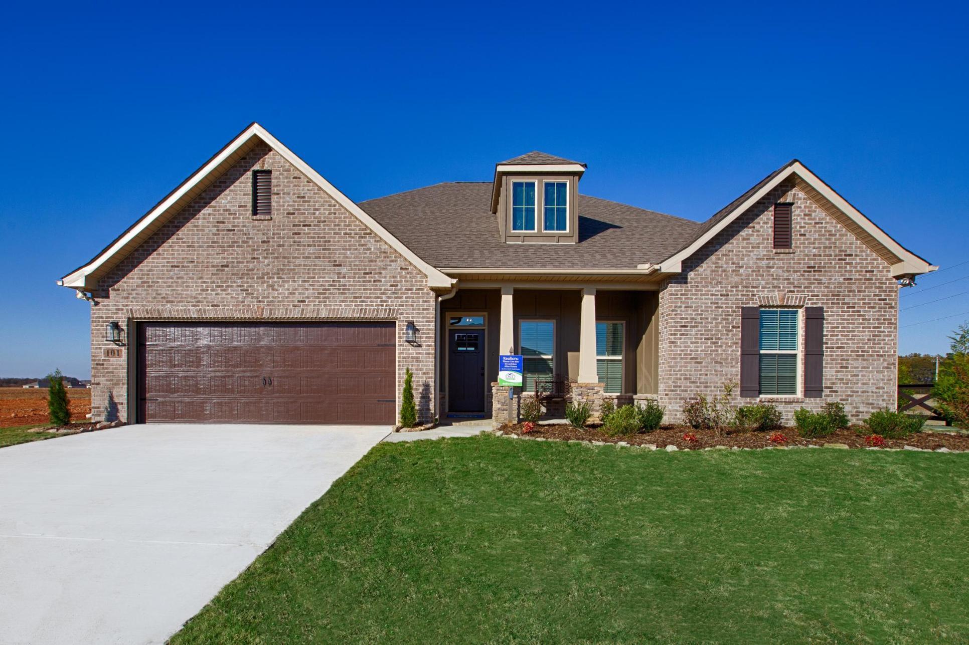 Parkside - Colebrook II A - DSLD Homes - Meridianville, AL - Model Home Exterior