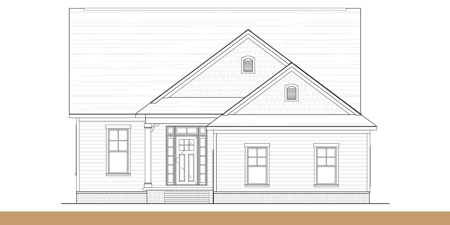 Eagle Construction Stamford Floorplan:Folk Victorian