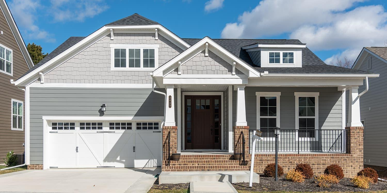 Eagle Construction Hartford Terrace Floorplan:Craftsman Architectural Style