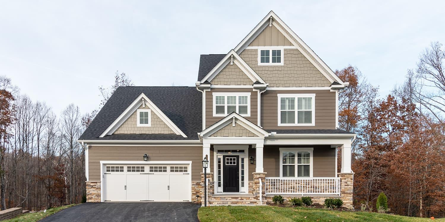 Eagle Construction Linden III Floorplan:Craftsman Architectural Style