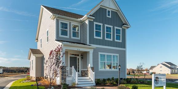 Eagle Construction Manchester Floorplan:Arts and Crafts Architectural Style
