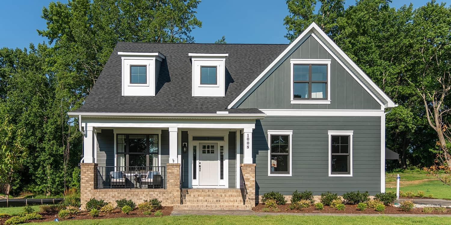 Eagle Construction Carlisle Floorplan:Arts and Crafts Architectural Style