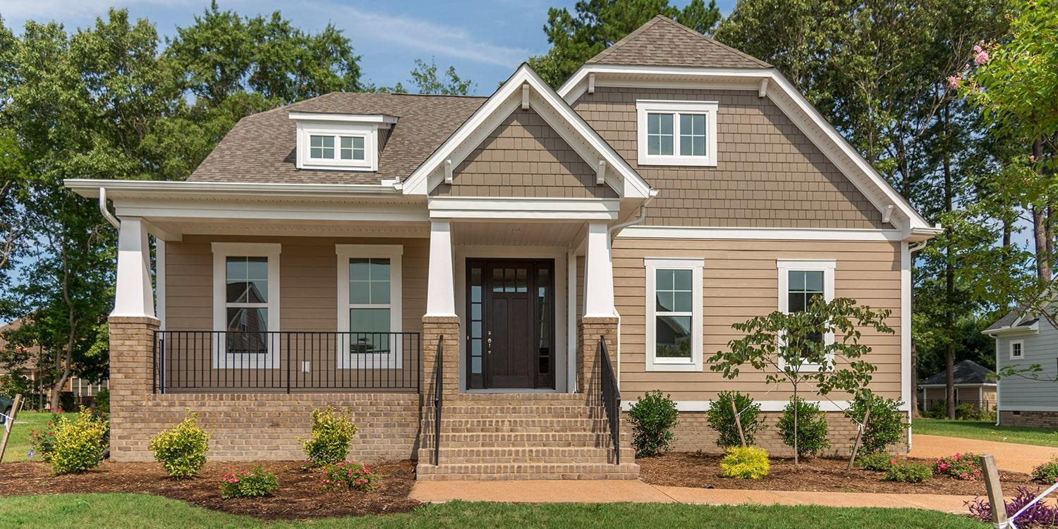 Eagle Construction Hartford II Floorplan:Craftsman Architectural Style