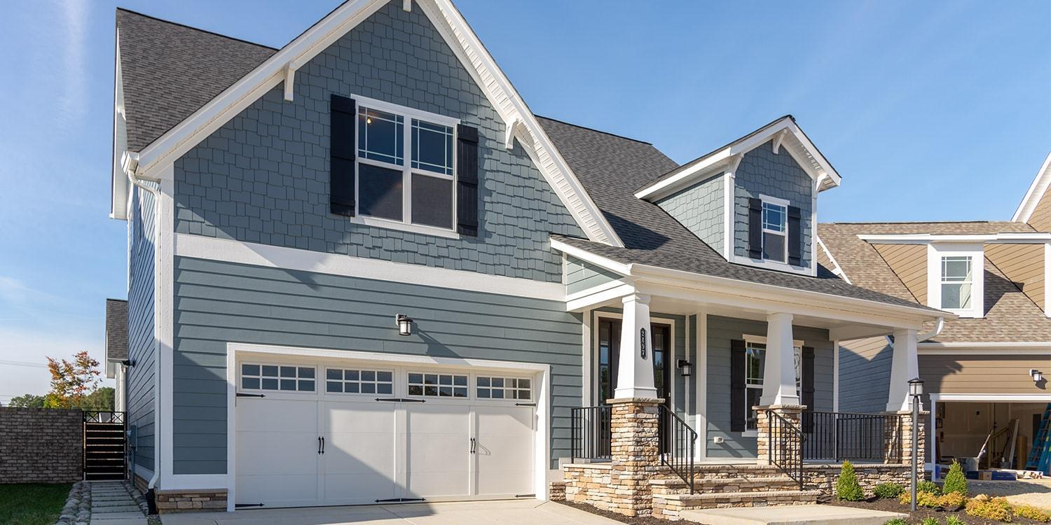 Eagle Construction Carlisle Floorplan:Craftsman Architectural Style