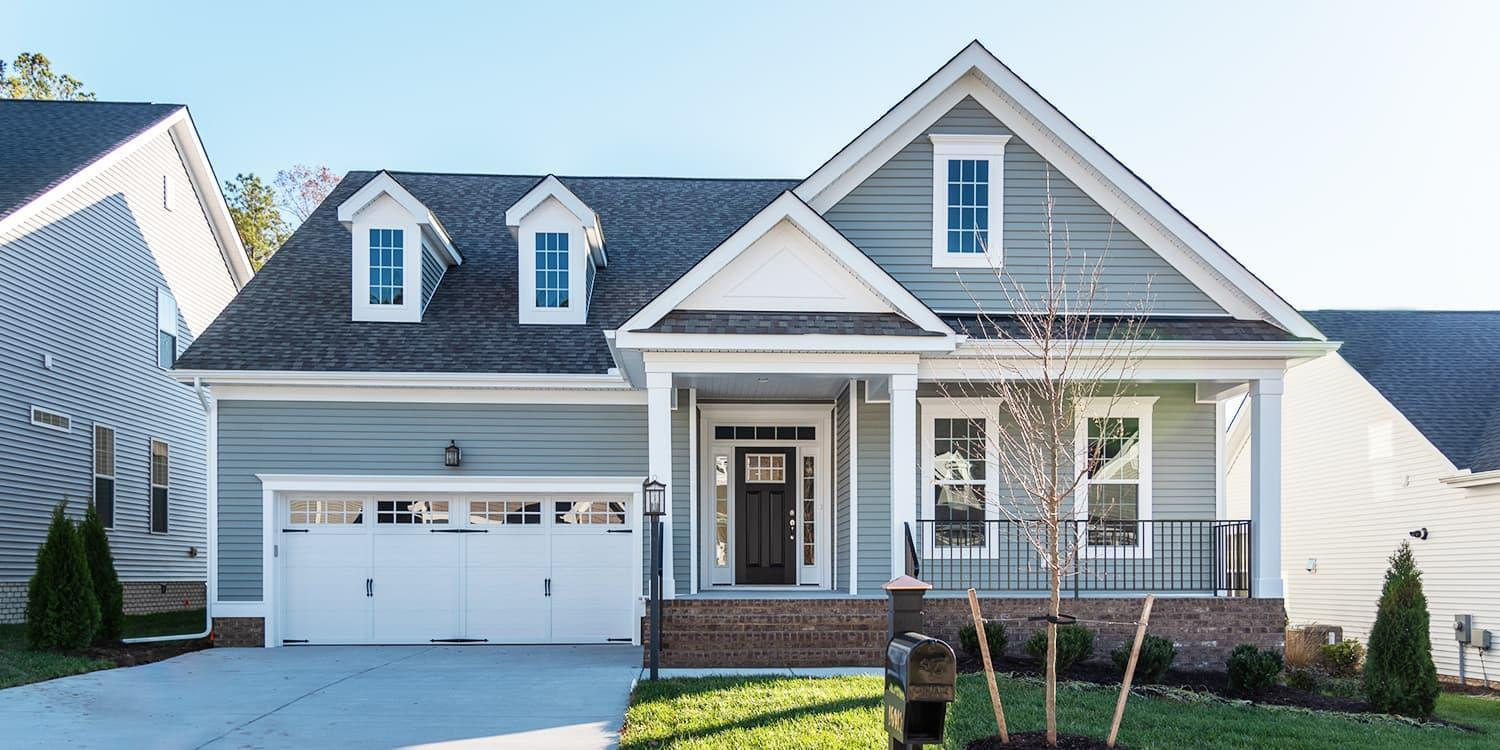Eagle Construction Hartford II Floorplan:Arts and Crafts Architectural Style
