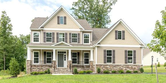 Eagle Construction Westminster Floorplan:Craftsman Architectural Style