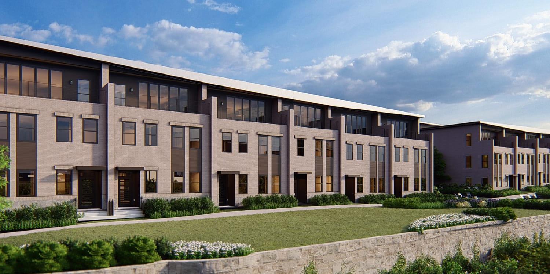 Eagle Construction Laurel Floorplan:Laurel Townhome