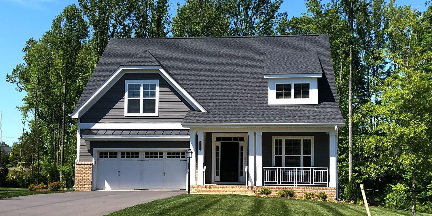 Eagle Construction Carlisle Floorplan:Readers Branch Traditional Architectural Style